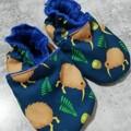 KIwi Teal soft soled shoe
