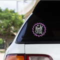 ALL IS WELL WITH MY SOUL  - Vinyl decal sticker