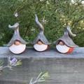 Gnome trio - Alvin, Binky & Conrad