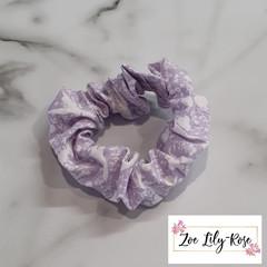 Purple Tinkerbell Scrunchie