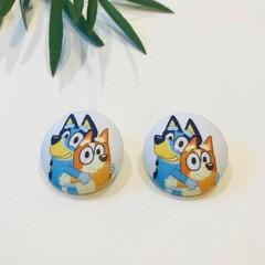 Bluey & Bingo Hugging Earrings