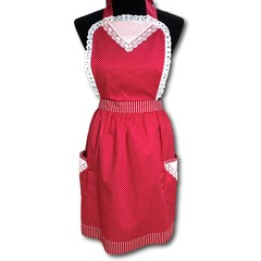 Hot Chilli Nights Lace traditional ladies apron