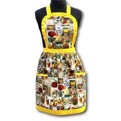 Bountiful Harvest ladies traditional apron