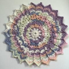Crochet Table Centre Mat