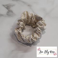 Xmas Stripe Scrunchie