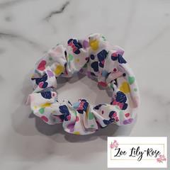 Minnie Hearts Scrunchie