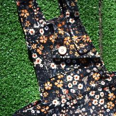 Pre loved Floral Overalls