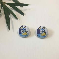 Bluey Waving Earrings