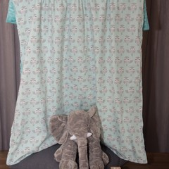 Baby blanket ~ Baby blanket - minky - cotton - ready made - nursery decor ~ owl