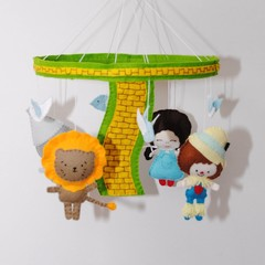 Wizard of Oz baby mobile and windup music box - baby shower gift - pick your own