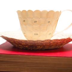 Custom order for Kathleen - Literary teacup - literary curio