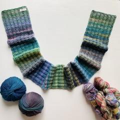 Green tea scarf