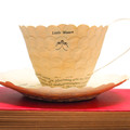 Little Women literary teacup - teacup made from book pages - literary curio