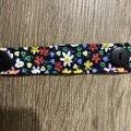 Ear Savers - Black Floral 13.5cm