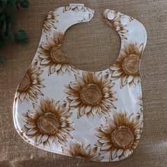 Adjustable Baby Bibs- Floral Designs ( 4 different designs)