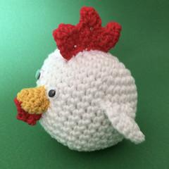 'White Chook' Ball Toy