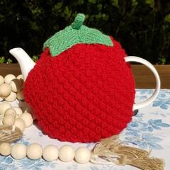 Raspberry Tea Cozy