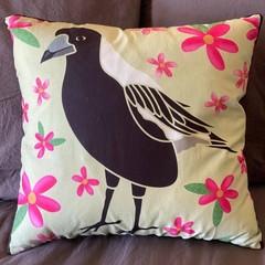 Magpie Throw Cushion