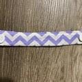 Ear savers - Purple Chevron 17cm