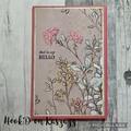 Refillable Notebook- Medium A6 -HELLO