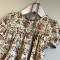 Girls Cotton Sateen Dress Size 2