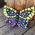 Handmade Iridescent Butterfly Wall Art Home Decor Unique Gift
