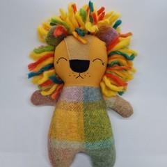 Leo Handmade lion softie