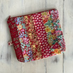 Lucy Red Liberty Pouch