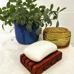 Eco Friendly Wood Soap Dish