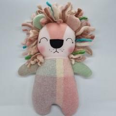 Lexie Handmade lion softie