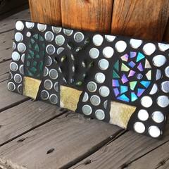 Three Little Cactus Mosaic Home Decor Unique Unusual Gift