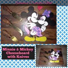 Minnie & Mickey Cheeseboard