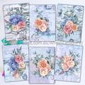 French Shabby Ephemera Florals AfreshDesignPB