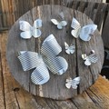 Rustic Circle Of Butterflies 3D Wall Art Unique Unusual Birthday Gifts