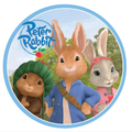Peter Rabbit Cake and Cupcake Edible Printed Toppers