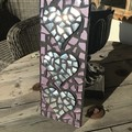 3D Mosaic Sliver Hearts Home Decor Unique Unusual One Of A Kind Gift