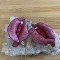 Abstract Vulva Earrings