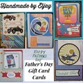 Five Paper-Crafted Father's Day Cards