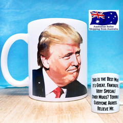 Donald Trump Funny Coffee Mug.