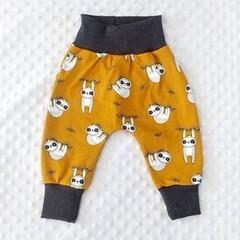 Sloth Harem Pants