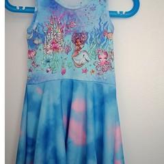 Super twirly mermaid dress Size 4