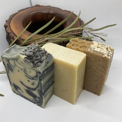 Goats Milk soap collection, Palm oil free