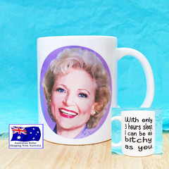 Rose Nylund, Golden Girls, Betty White funny coffee Mug 11oz
