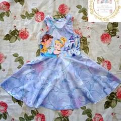 Super twirly Cinderella dress