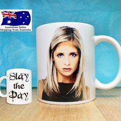 Buffy the Vampire Slayer, Slay the Day Funny Coffee/Tea Mug