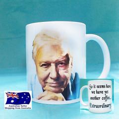 Sir David Attenborough, Funny Coffee/Tea Mug Gift