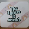 """""""The Future is Ahead"""" Greeting Card for Trans Folk"""