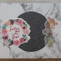"""""""Follow Your Heart"""" Greeting Card"""