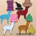 Llama Hats Felt Sets