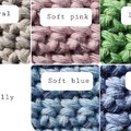 CLOOTS!! Cotton cloths for dishes, face/body scrub, baby cloth